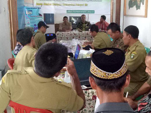 Kagiatan Pelatihan Pengelolaan Sistem Informasi Desa (SID) berbasis Website