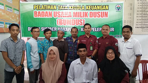Pelatihan Tata Kelola Keuangan Badan Usaha Milik Desa
